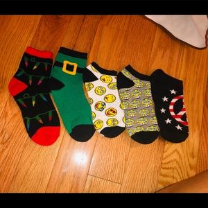 Printed Sock Bundle